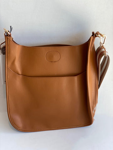 brown large messenger