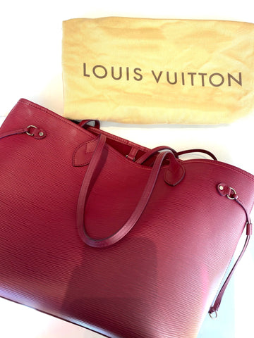louis vuitton neverfull epi