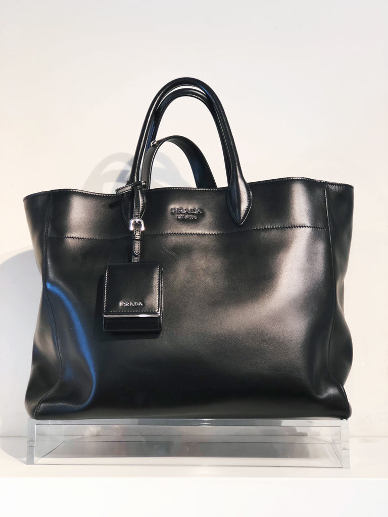SOLD-Prada Leather Tote