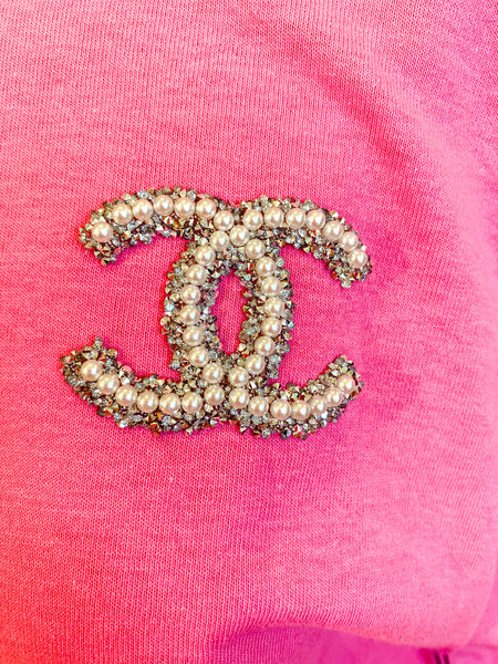 CC Embellished T-Shirt