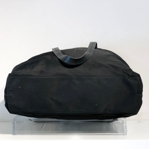 SOLDPrada Medium Black Nylon Tote