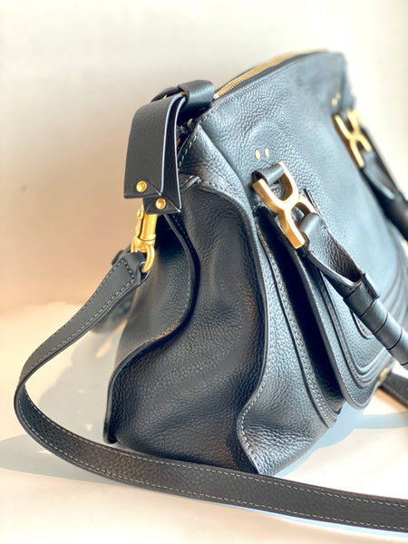 side black chloe purse