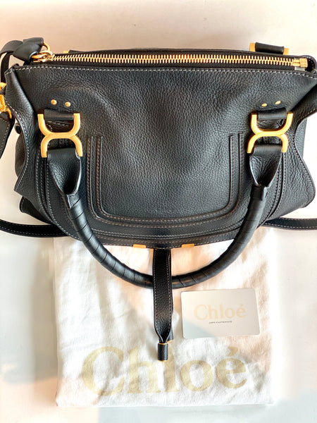 black chloe purse