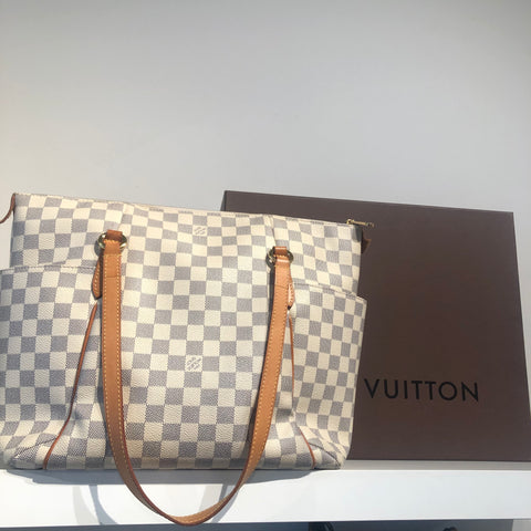 Louis Vuitton Totally GM Axure Damier Azur