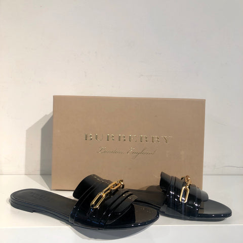 Burberry Coleford Slides Black
