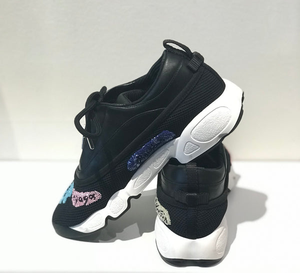Christian Dior Lady Dior Collection Badge Sneakers