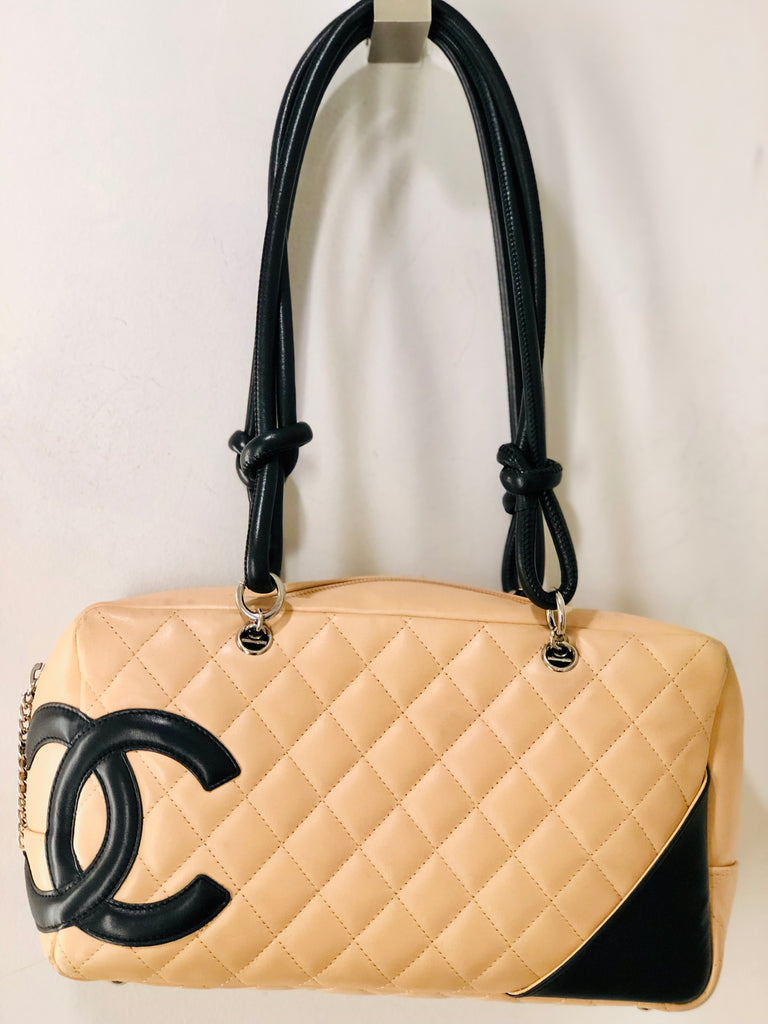 85232e148550 Chanel Cambon Bowler Leather Bag – dress