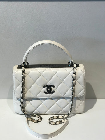 SOLD Chanel Flap Bag with Top Handle
