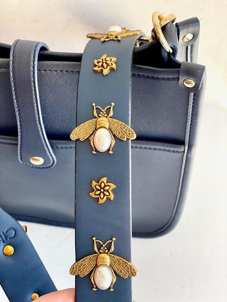 Corbyn Bee Strap Messenger Bag