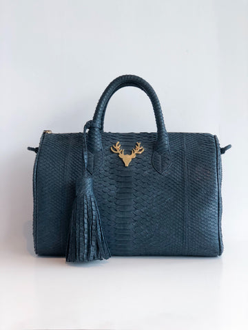 RETURNED Taxidermy Ashland Python Handbag