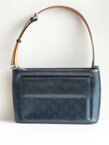 Louis Vuitton Allston Matte Monogram Shoulder Bag