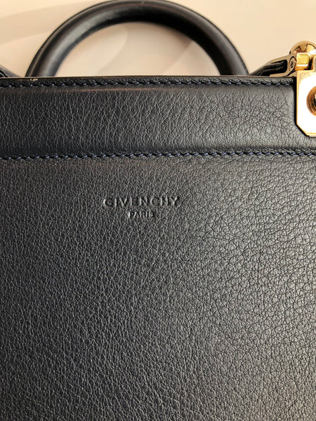 Givenchy HDG Top Handle Leather Tote