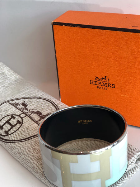 SOLD Hermès Wide Bangle