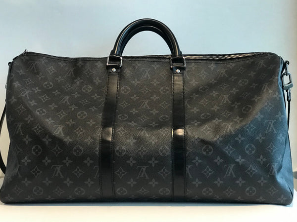 SOLD Louis Vuitton Eclipse Keepall 55