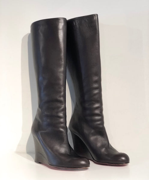 Christian Louboutin Wedge Boots