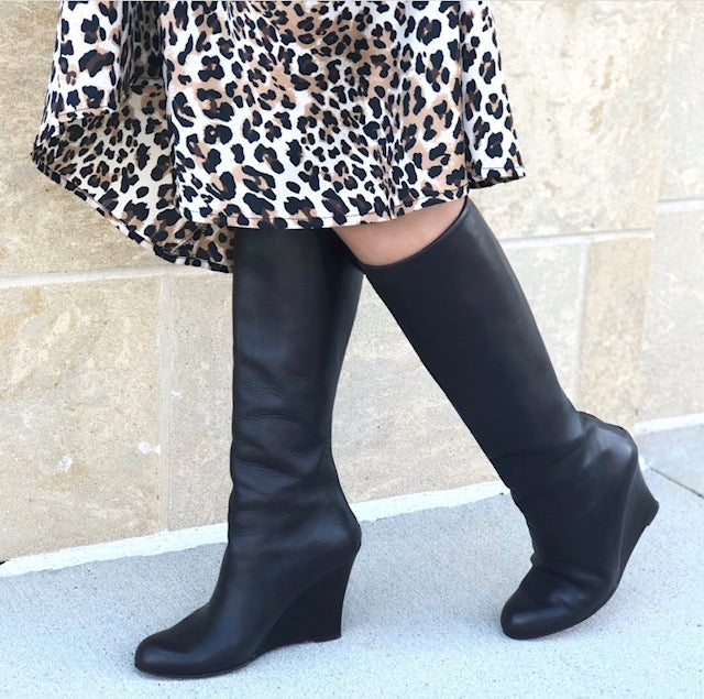 SOLD Christian Louboutin Wedge Boots