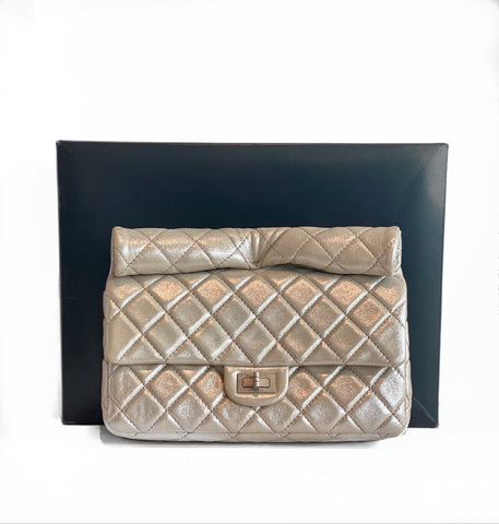 Chanel Reissue 2.55 Clutch Gold