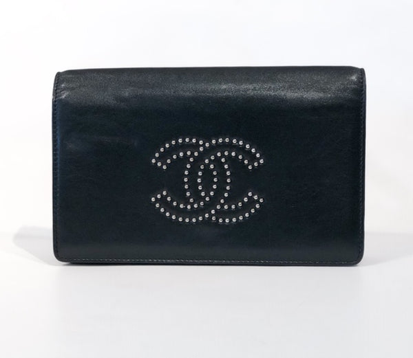 Chanel Studded Wallet on Chain