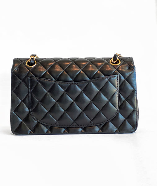 SOLD Chanel Quilted Lambskin Double Flap Bag