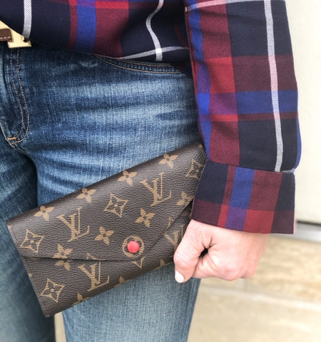 Louis Vuitton Josephine Wallet Monogram