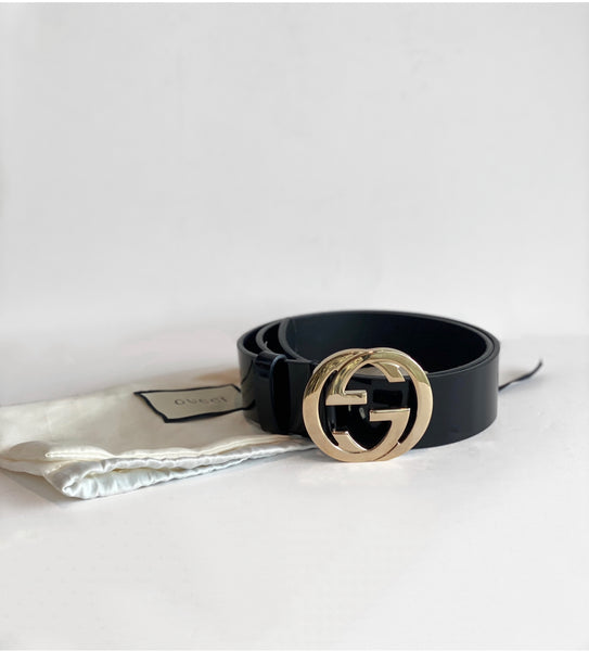 SOLD Gucci Logo Belt