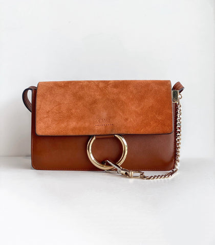 Chloe Faye Small Crossbody Tobacco