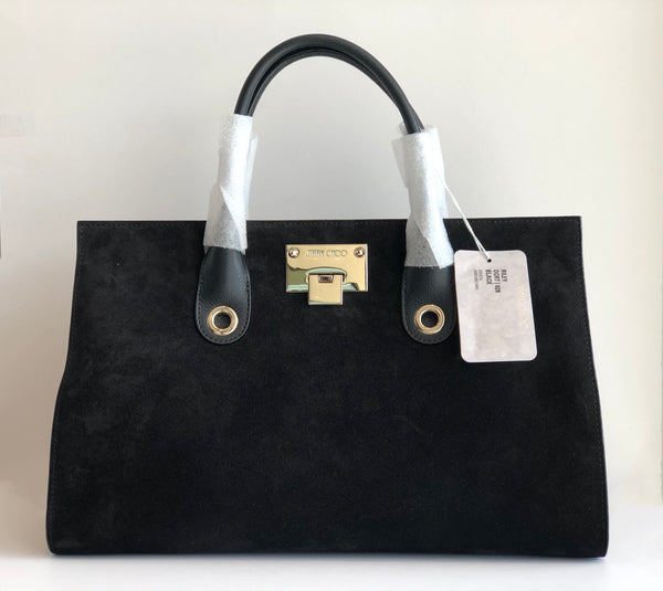 Jimmy Choo Suede Riley Bag
