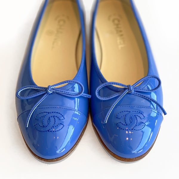 SOLD Chanel Patent Ballet Flats