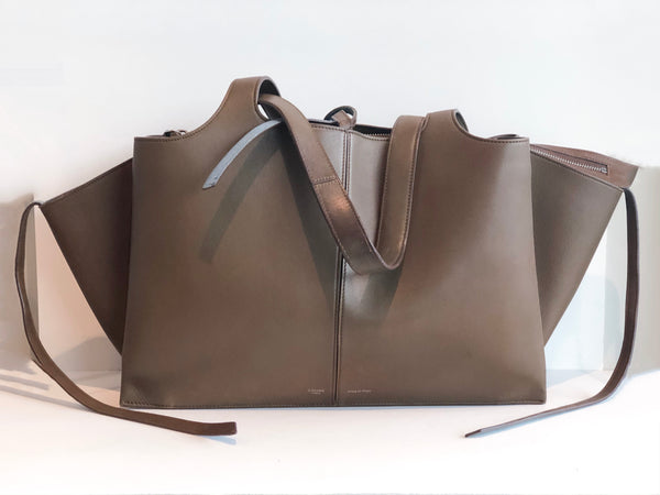 SOLD Céline Tri-fold Shoulder Bag