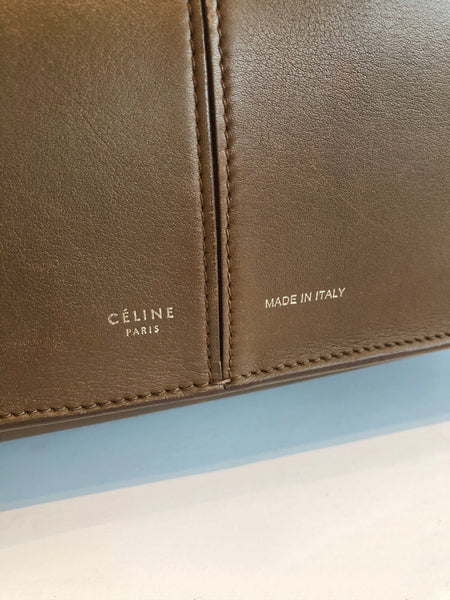 Céline Tri-fold Shoulder Bag