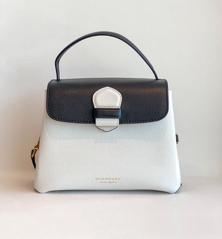 Burberry Camberley Bag Black and White Front of Bag