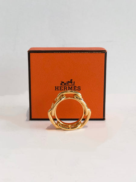 SOLD Hermes Scarf Ring