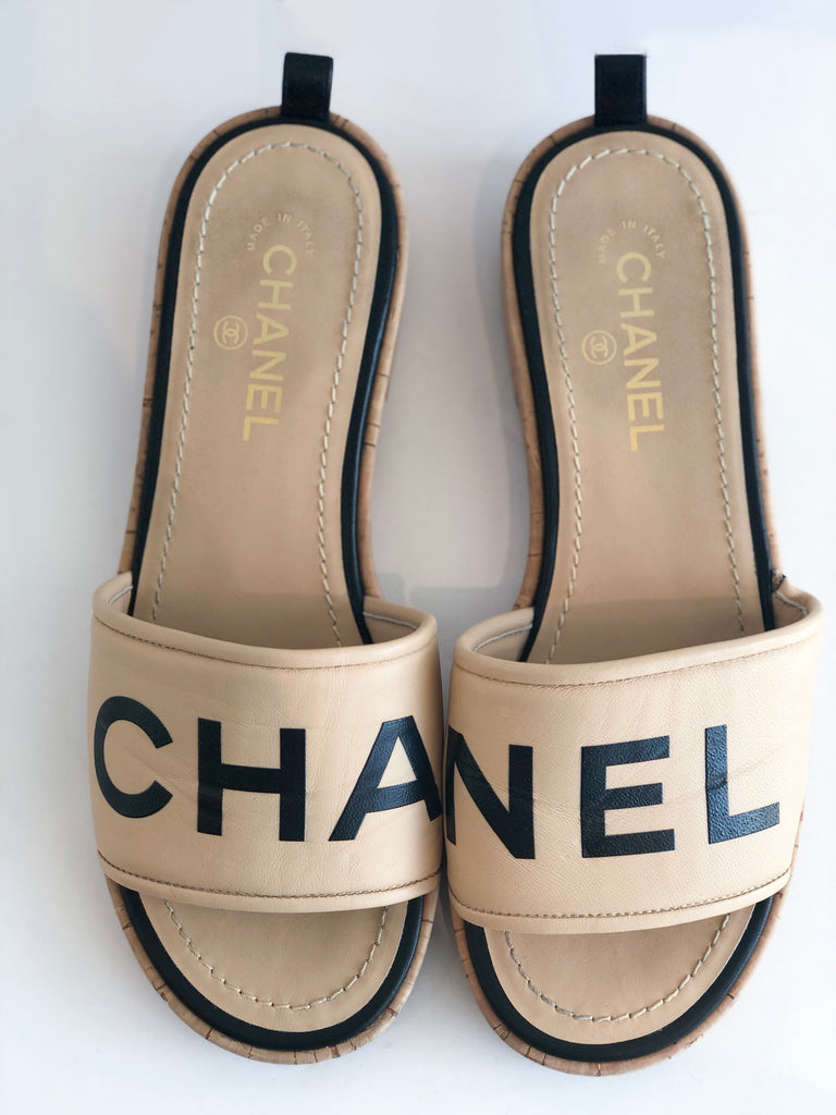 SOLD Chanel Slides
