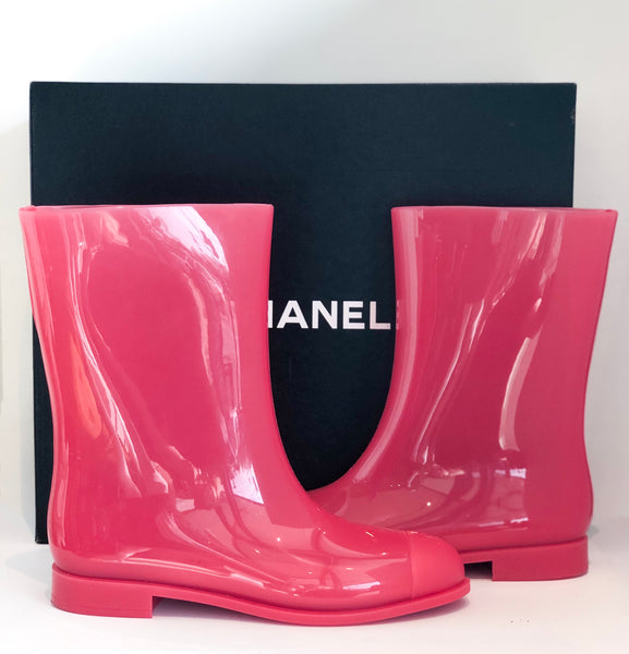 SOLD Chanel Rain Boots
