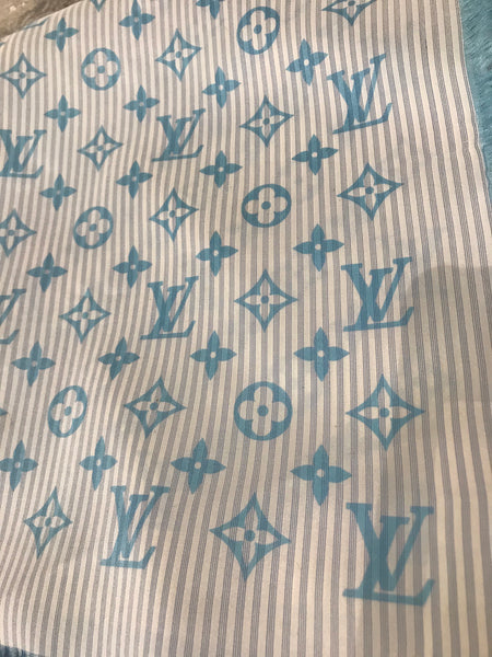 SOLD Loius Vuitton Silk Monogram Scarf