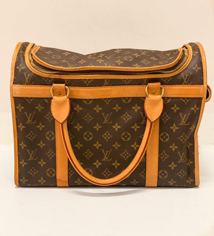 Louis Vuitton Monogram Sac Chien Pet Carrier 40
