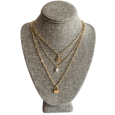 Farrah B Hidden Path Necklace