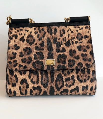 SOLD DOLCE & GABBANA Printed Miss Sicily Bag