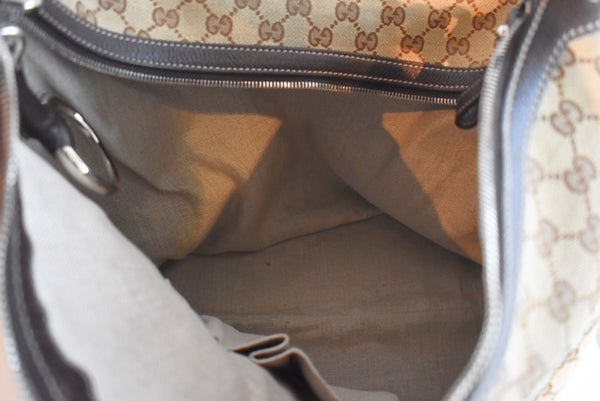SOLD Gucci Monogram Hobo Bag