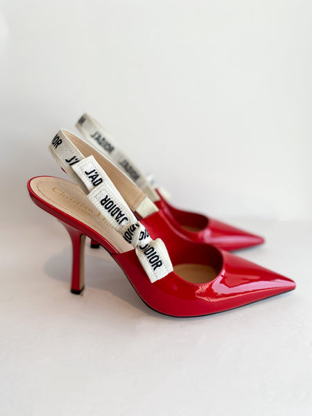 Dior J'Adior Heels Red Side of Heels
