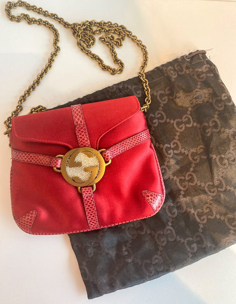Gucci Mini Evening Bag Red