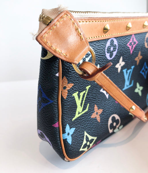 SOLD Louis Vuitton Multicolore Pouchette