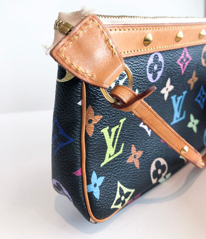 Louis Vuitton Multicolor Pouchette Bag Monogram