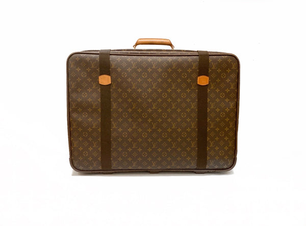 Louis Vuitton Satellite 65 Monogram Suitcase Back