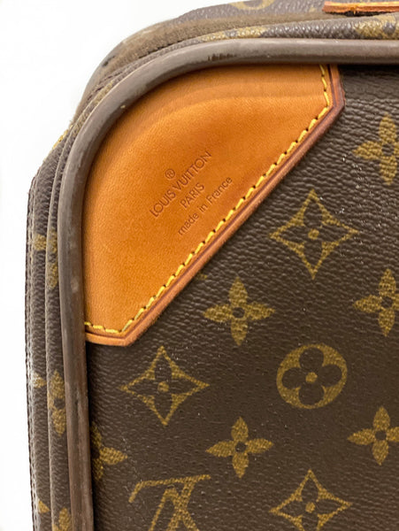 Louis Vuitton Satellite 65 Monogram Suitcase Detail