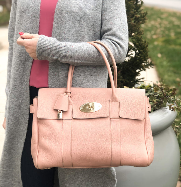 Mulberry Bayswater Nude Tote Bag