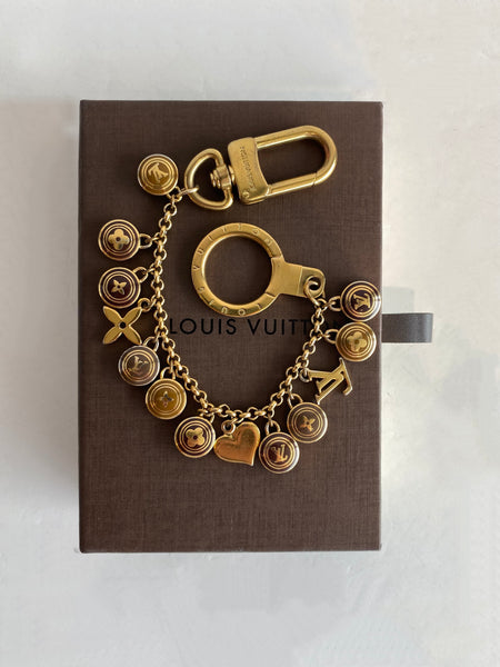 Louis Vuitton Bag Charm with Box