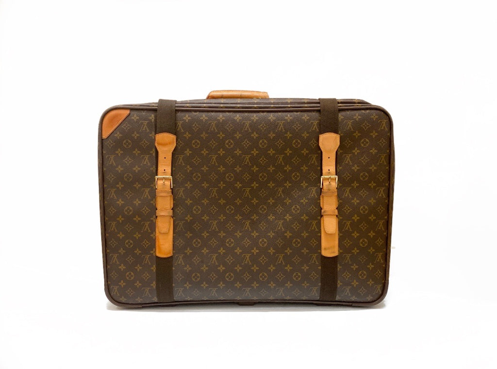 Louis Vuitton Satellite 65 Monogram Suitcase Front