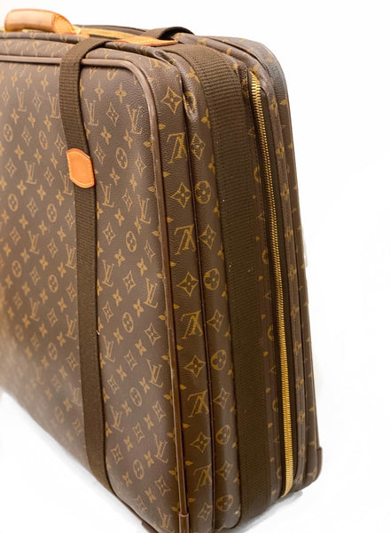 Louis Vuitton Satellite 65 Monogram Suitcase Side