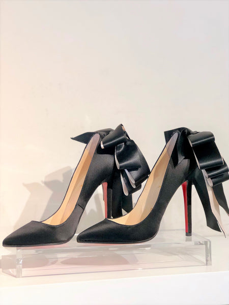 Christian Louboutin Anemone Satin Pumps